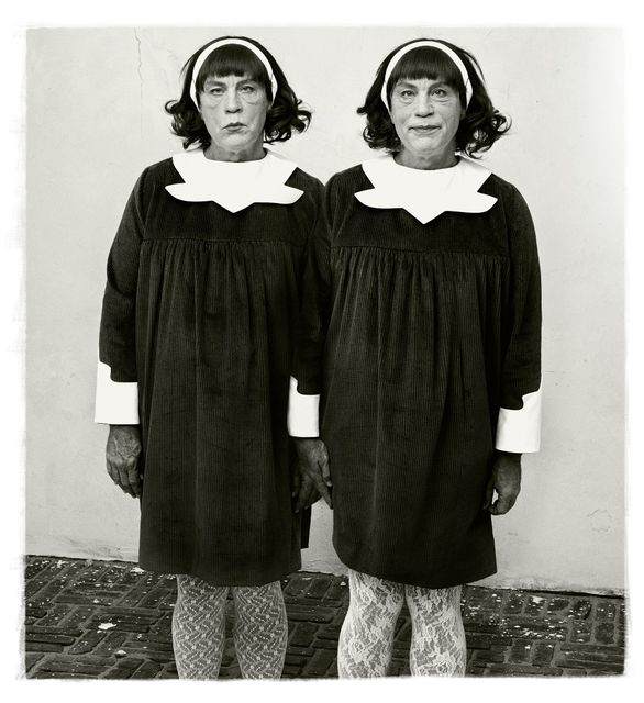 Sandro  Miller, Pigment print, Diane Arbus / Identical Twins, Roselle, New Jersey (1967), 2014