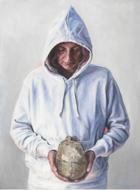Anya Janssen, Oil on canvas, Ecce Homo, 2019