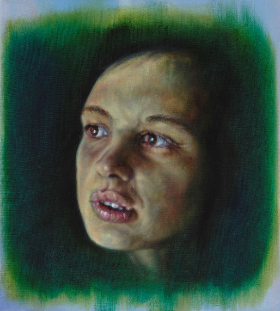 Anya Janssen, Oil on canvas, J.H., 2019
